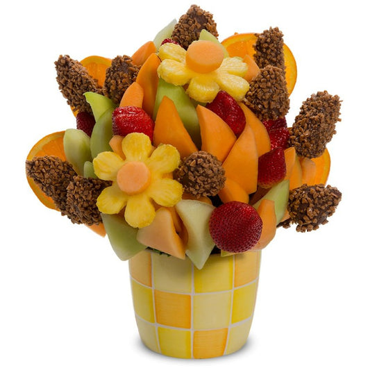 Fresh Fruit and Toffee Bouquet