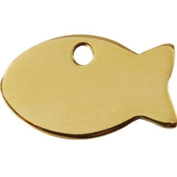 Red Dingo Fish Shape Pet ID Tag-Paws & Purrs Barkery & Boutique