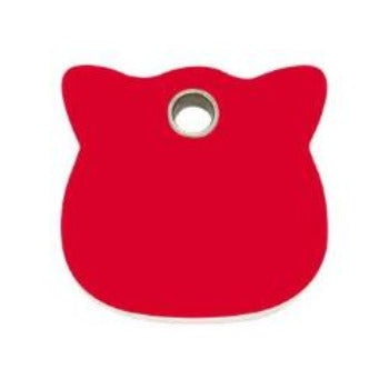 Red Dingo Cat Flat Plastic Pet ID Tag | Paws & Purrs Barkery & Boutique