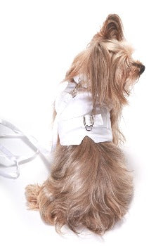 Dog in the Closet The Wyatt Linen Dog Harness Vest-Paws & Purrs Barkery & Boutique