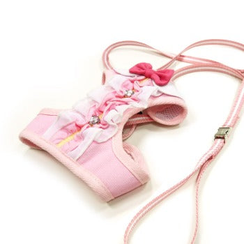 Dogo EasyGO Ruffle Dog Harness-Paws & Purrs Barkery & Boutique