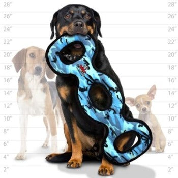Tuffy® Ultimate™ 3Way Tug Dog Toy