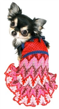 Hip Doggie Muttsoni Lace Dog Dress-Paws  Purrs Barkery & Boutique