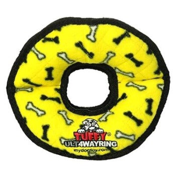 Tuffy® Ultimate™ 4Way Ring Dog Toy-Paws & Purrs Barkery & Boutique
