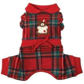Ruff Ruff Couture Lil' Teddy Snuggle Suit Dog Pajamas (Girl)-Paws & Purrs Barkery & Boutique