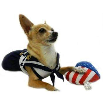 Ruff Ruff Couture Sail Away Sailor Dog Dress-Paws & Purrs Barkery & Boutique