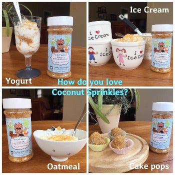 CocoTherapy Coconut Power Sprinkles