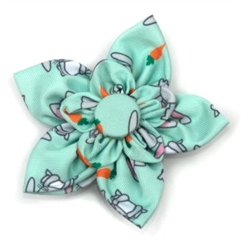 Worthy Dog Bunnies Dog Collar Flower-Paws & Purrs Barkery & Boutique