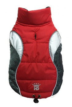 Hip Doggie Wave Reflective Puffer Dog Vest-Paws & Purrs Barkery & Boutique
