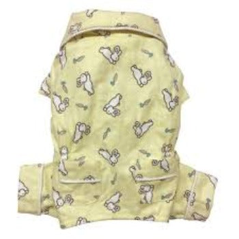 Klippo Hopping Bunny Flannel Dog Pajamas-Paws & Purrs Barkery & Boutique
