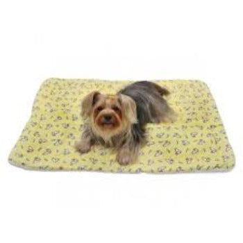 Klippo Hopping Bunny Flannel/Ultra-Plush Dog Blanket-Paws & Purrs Barkery & Boutique