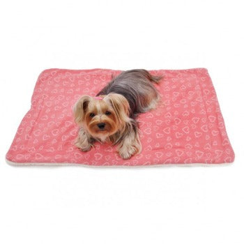 Klippo Pet Blush of Love Fleece Ultra Plush Dog Blanket-Paws & Purrs Barkery & Boutique