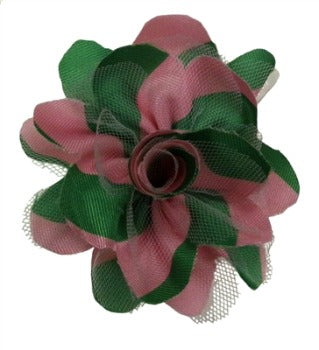 Huxley & Kent Bruce Pink & Green Dog Collar Flower-Paws & Purrs Barkery & Boutique