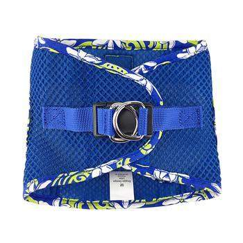 American River Hawaiian Trim Choke-Free Dog Harness - Cobalt Blue