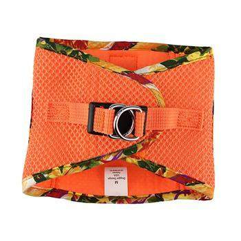 Doggie Design American River Sunset Orange Hawaiian Trim Step In Choke Free Dog Harness-Paws & Purrs Barkery & Boutique