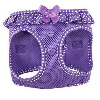 Doggie Design American River Polka Dot Paisley Purple Dog Harness-Paws & Purrs Barkery & Boutique