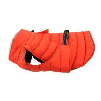 Doggie Design Alpine Extreme Weather Puffer Orange Dog Coat-Paws & Purrs Barkery & Boutique