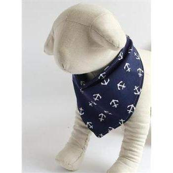 Anchor Dog Bandana (Dog-Bana)