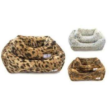 Hello Doggie Animal Print Luxe Dog Beds-Paws & Purrs Barkery & Boutique