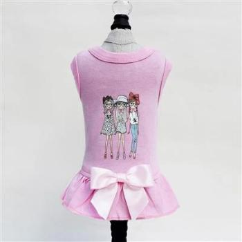 Hello Doggie Pink BFF Dog Dress-Paws & Purrs Barkery & Boutique