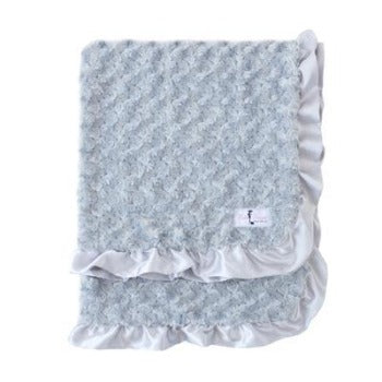Baby Ruffle Dog Blanket & Throw.
