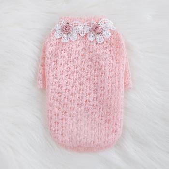 Hello Doggie Baby Rose Dog Sweater-Paws & Purrs Barkery & Boutique