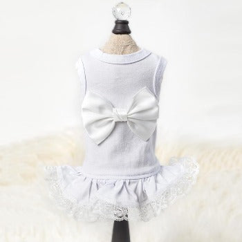 Hello Doggie White Ballerina Dog Dress-Paws & Purrs Barkery & Boutique