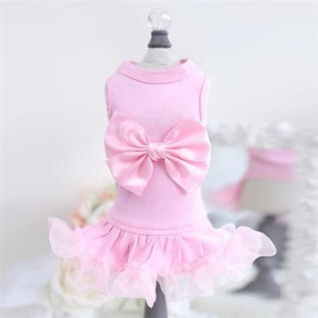 Hello Doggie Pink Ballerina Dog Dress-Paws & Purrs Barkery & Boutique