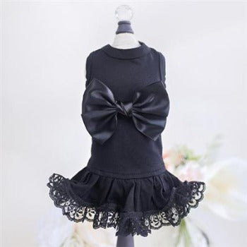 Hello Doggie Black Ballerina Dog Dress-Paws & Purrs Barkery & Boutique