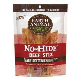 Earth Animal No Hide Beef Stix Dog Treats, 10 Pack-Paws & Purrs Barkery & Boutique