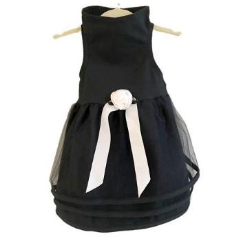 Daisy & Lucy Black Tulle Dog Dress-Paws & Purrs Barkery & Boutique