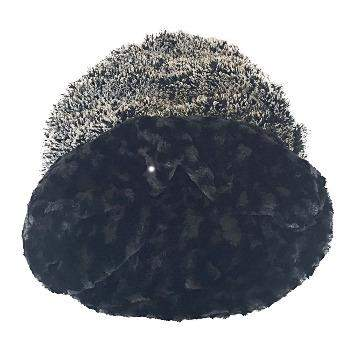 Black & White Powder Puff Cozy Pet Sak