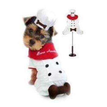 Pampet Puppe Love Bone Appetite Chef Dog Halloween Costume-Paws & Purrs Barkery & Boutique