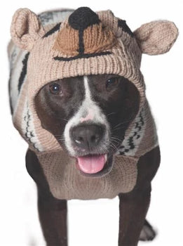 Chilly Dog Brown Bear Hoodie Dog Sweater-Paws & Purrs Barkery & Boutique
