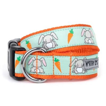 The Worthy Dog Bunnies Dog & Cat Collar-Paws & Purrs Barkery & Boutique