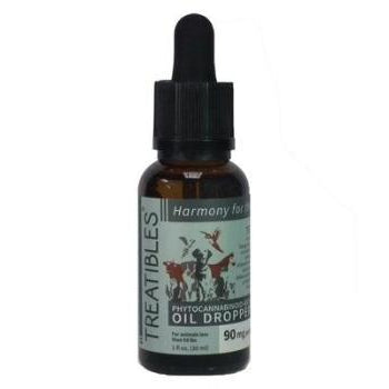 Treatibles Full Spectrum Hemp Oil Dropper Bottle-Paws & Purrs Barkery & Boutique