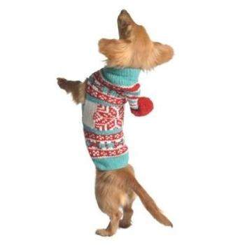 Chilly Dog Peppermint Hoodie Holiday Dog Sweater-Paws & Purrs Barkery & Boutique