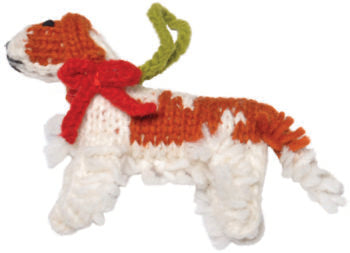 Chilly Dog Cavalier King Charles Spaniel Handmade Knit Dog Christmas Tree Ornament-Paws & Purrs Barkery & Boutique