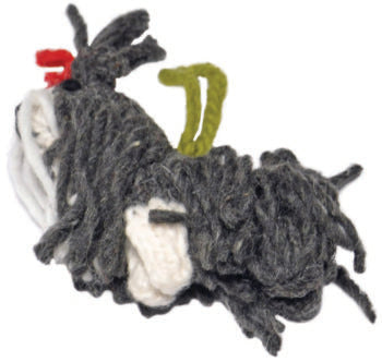Chilly Dog Shih-Tzu Handmade Knit Dog Christmas Tree Ornament-Paws & Purrs Barkery & Boutique