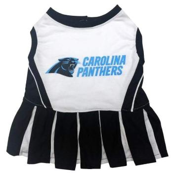 Carolina Panthers Cheerleader Dog Dress-Paws & Purrs Barkery & Boutique