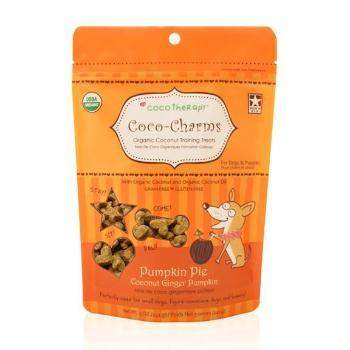CocoTherapy Coco-Charms Pumpkin Pie Dog Training Treats-Paws & Purrs Barkery & Boutique