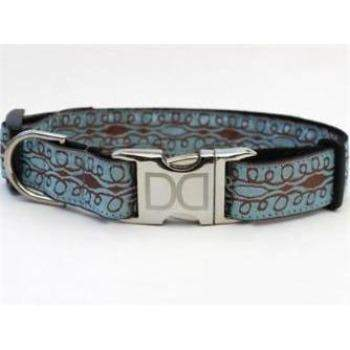 Calligraphy Collar - All Metal Buckles-Collars-Paws & Purrs Barkery & Boutique