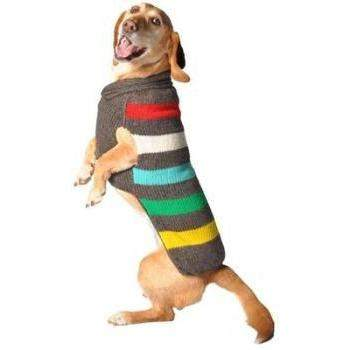 Chilly Dog Charcoal Stripe Dog Sweater-Paws & Purrs Barkery & Boutique