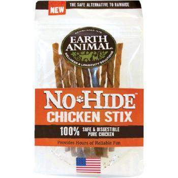 Earth Animal No Hide Chicken Chews Dog Treats, 10 Pack Stix-Paws & Purrs Barkery & Boutique