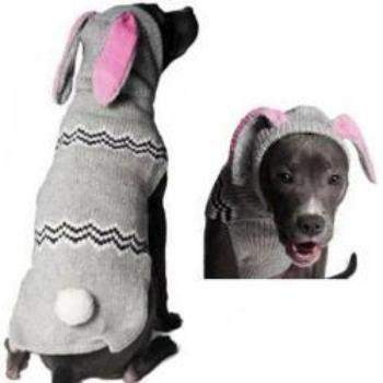 Chilly Dog Bunny Dog Hoodie Dog Sweater-Paws & Purrs Barkery & Boutique