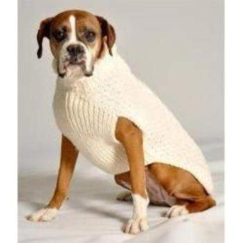 Chilly Dog Cable Knit Dog Sweater-Paws & Purrs Barkery & Boutique