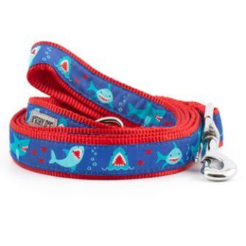 The Worthy Dog Chomp Shark Dog Collar & Leash-Paws & Purrs Barkery & Boutique