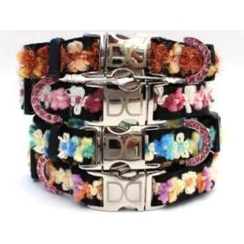 Diva Dog Coco Collar - All Metal Buckles (4 Colors)-Paws & Purrs Barkery & Boutique
