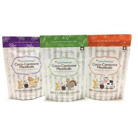 CocoTherapy Coco-Carnivore Freeze Dried Meatballs Dog & Cat Treats-Paws & Purrs Barkery & Boutique
