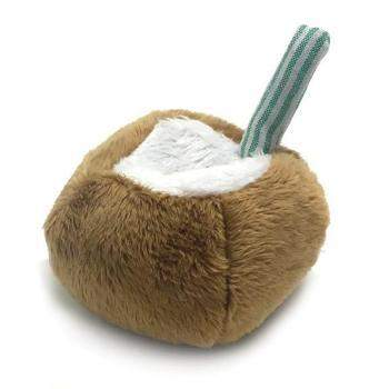 CocoTherapy Coco-Nut Pipsqueak Dog Toy-Paws & Purrs Barkery & Boutique